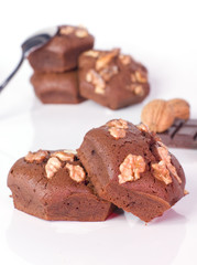 dessert au chocolat et au chocolat
