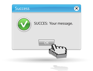 Message success