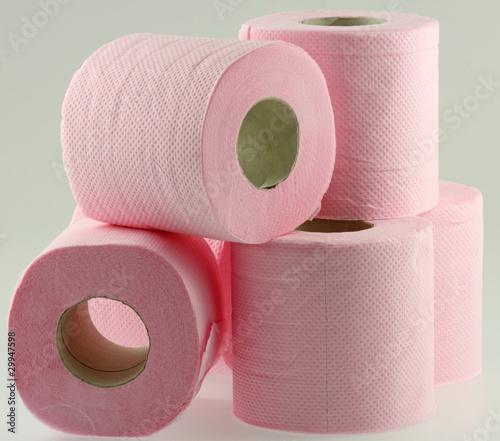 rouleaux de papier toilette rose photo libre de droits sur la banque d 39 images. Black Bedroom Furniture Sets. Home Design Ideas