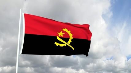 015 - Flagge von Angola