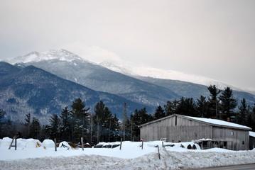 Barnyard in the Mountains