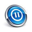 icône bouton internet pause