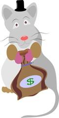 Мышь-предприниматель