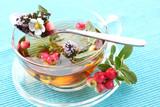 Vitality cranberry tea poster