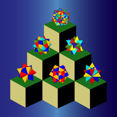 Polyhedra building