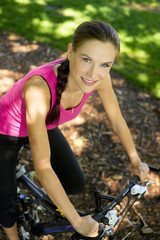Beauty on  Bicycle