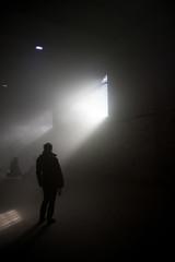 stanza nebbiosa