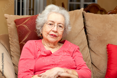 Adult Senior Woman Home Lifestyle