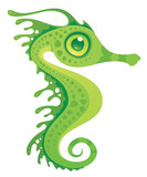 Leafy Sea Dragon Seahorse poster