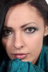 Portrait einer bezaubernden jungen Frau