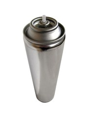 Bombe aérosol vide à recycler