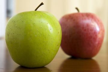 manzanas diferentes