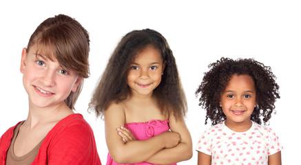 Three beautifu girls