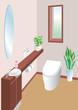 清潔トイレ