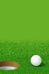 ゴルフ:Ball and Hole(Golf:Ball and Hole)