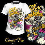 T-Shirt Print Comic