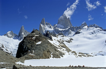 Panorama of Mount Fitz Roy