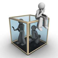 3D People - Thinking Outside the Box