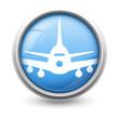 Symbole glossy vectoriel avion 01