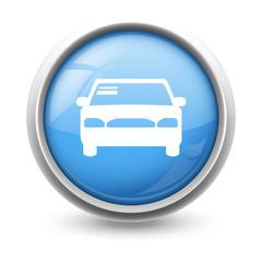 Symbole glossy vectoriel automobile 01
