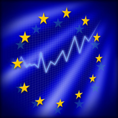 graph with european stars