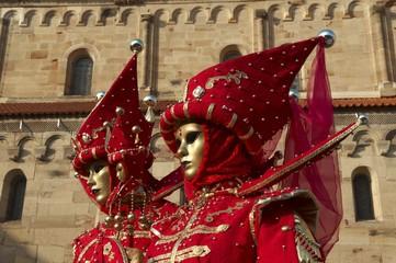 carnaval vénitien de rosheim en alsace