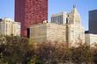 Autumn in Chicago - Michigan Avenure Buildings