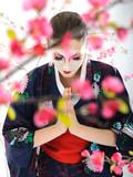 Fototapete Frau - Geisha - Frau