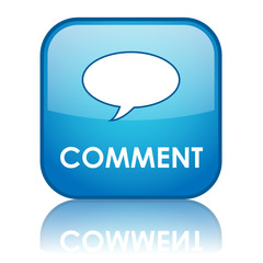 """COMMENT"" Button (share forum opinion vote testimonials web)"
