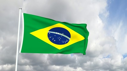 035 - Brasilianische Flagge