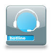 Button spare Hotline grau blau