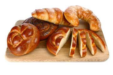bread on a board
