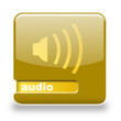 Button spare Audio gold gelb
