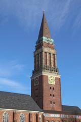 Rathausturm der Stadt Kiel