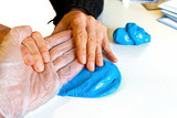 hand physiotherapy to recover a broken finder poster