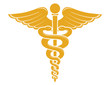 Medical Caduceus Symbol