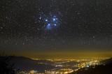 Fototapete Stadt - Himmel - Nacht