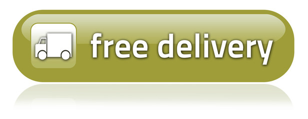 "Bar-shaped Button ""Free Delivery"""