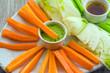 carote,sedano e finocchio in pinzimonio