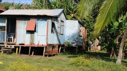 zinc  house Corn Island Nicaragua Central America