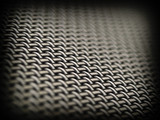 Weave Pattern Showing Repetition Useful as Background poster