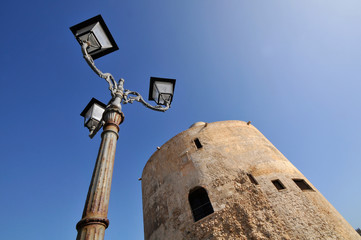 The Royal Spur Tower (Sulis Tower) Alghero, Sardinia, Italy