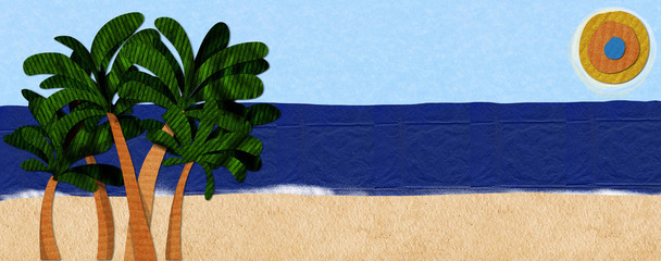 playa de papel