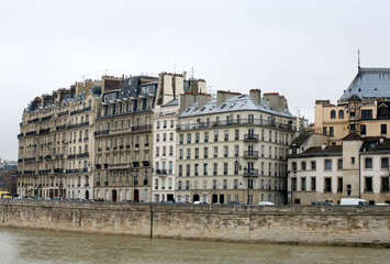 Apartment Buildings, Paris, France
