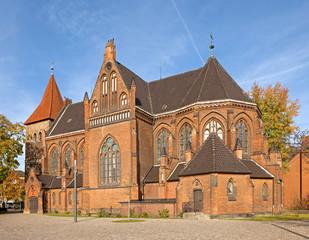 Die Elisabethkirche in Langenhagen