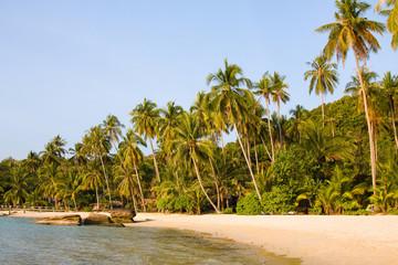 Tropical beach , Koh Kood island , Thailand