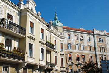 Belgrade architecture details