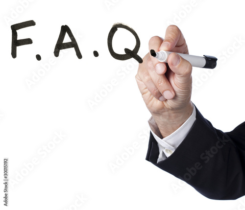 F.A.Q frequent asked questions