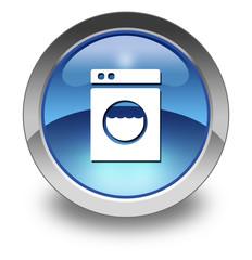 "Glossy Pictogram ""Laundromat"""