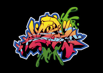 Graffiti Black Storm